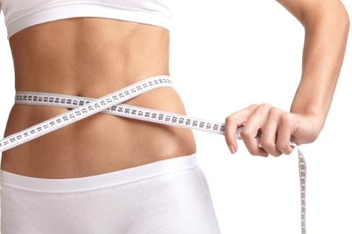 ダイエットサプリで痩せた女性
