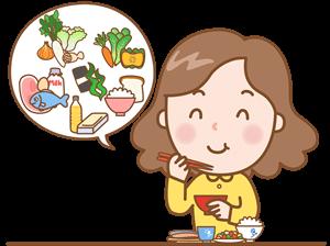 ダイエット中の食事は良く噛む
